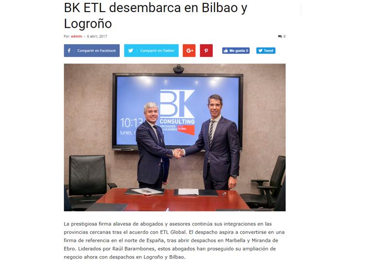 bk consulting etl global desembarca en bilbao y logroño