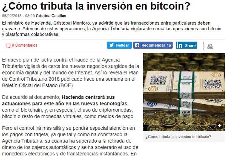 como tributa tu inversión en bitcoin linkservices