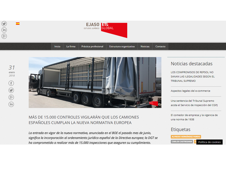 cumplimiento normativa europea camiones - ejaso etl global