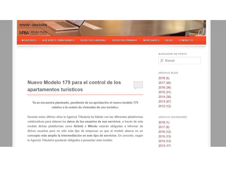 emede y asociados nuevo modelo 179