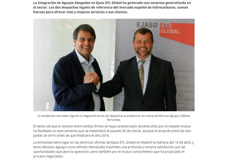 aguayo abogados se integra en ejaso etl global - hidrocarburos