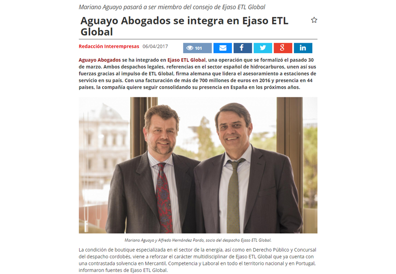 aguayo abogados se integra en ejaso etl global