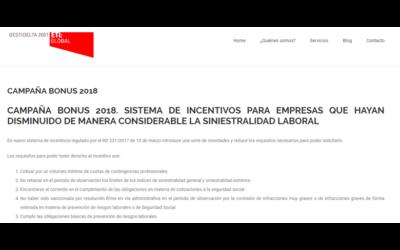 Campaña bonus 2018 En el blog de Gestidelta-ETL Global – Mayo 2018
