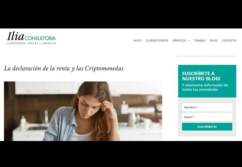 La declaración de la renta y las Criptomonedas