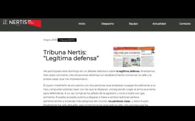 Legítima defensa Tribuna Nertis-ETL Global – Mayo 2018