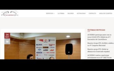 ACUERDO participa junto con su socio EJASO ETL Global en el V Encuentro de Carretilleros