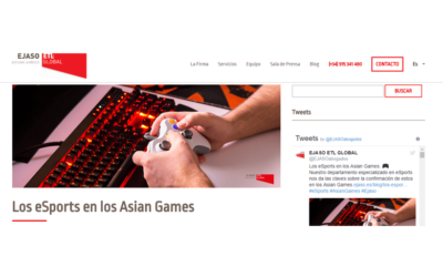 Los eSports en los Asian Games