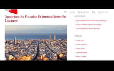 Opportunités Fiscales Et Immobilières En Espagne