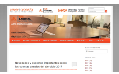 Novedades y aspectos importantes sobre las cuentas anuales del ejercicio 2017′ En el blog de Emede-ETL Global – Junio 2018