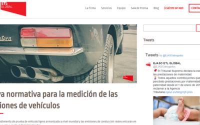 'Nueva normativa para la medición de las emisiones de vehículos'