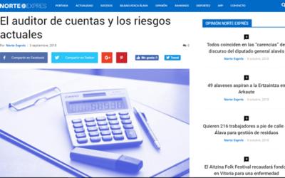 El auditor de cuentas y los riesgos actuales