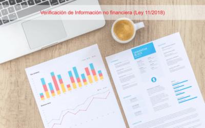 Verificación de Información no financiera (Ley 11/2018)