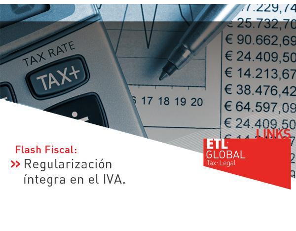 Regularización íntegra en el IVA