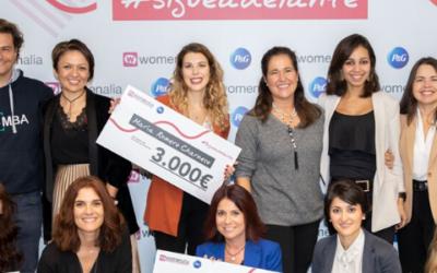 Silvia Palacios, miembro del jurado en la entrega de premios de P&G y Womenalia al emprendimiento femenino