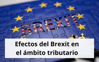 Efectos del Brexit en el ámbito tributario