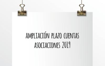 Emede ETL Global: Ampliación plazo cuentas asociaciones 2019