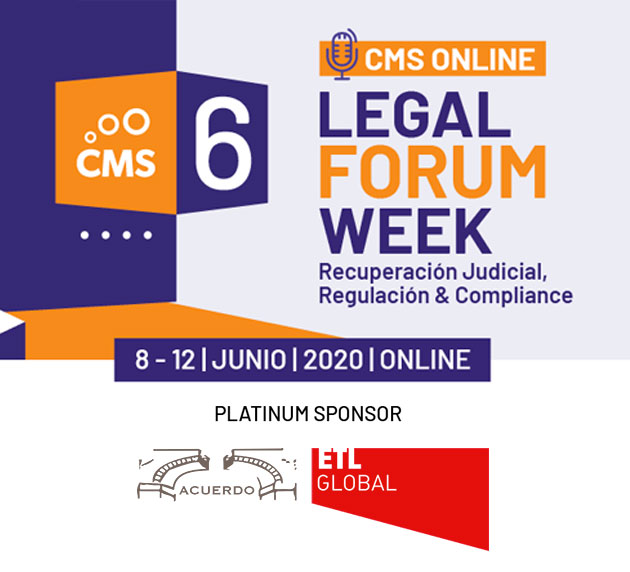 Acuerdo ETL Global en la 6º CMS Legal Forum Week