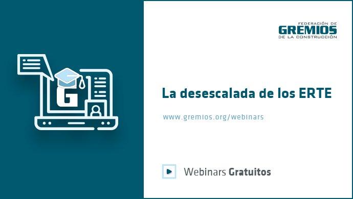 La desescalada de los ERTE: nuevo webinar de GREMIOS