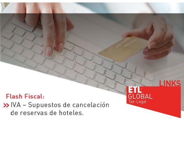 IVA – Supuestos de cancelación de reservas de hoteles