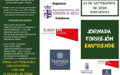 Torrejón Emprende vuelve a la vida de forma virtual