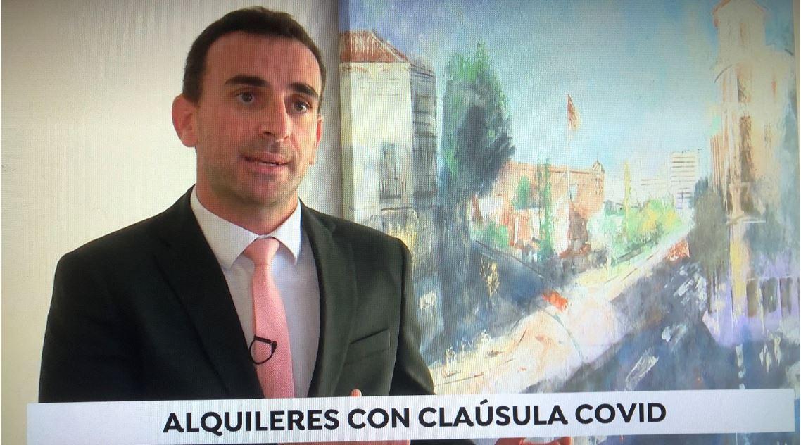 """César Espert explica para Antena 3 en qué consiste la """"cláusula Covid"""""""