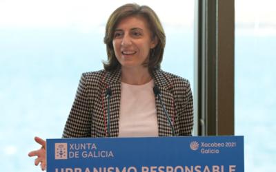Ángeles Vázquez: «Casi la mitad de los consejos gallegos tienen un plan urbano o el punto de alcanzarlo»