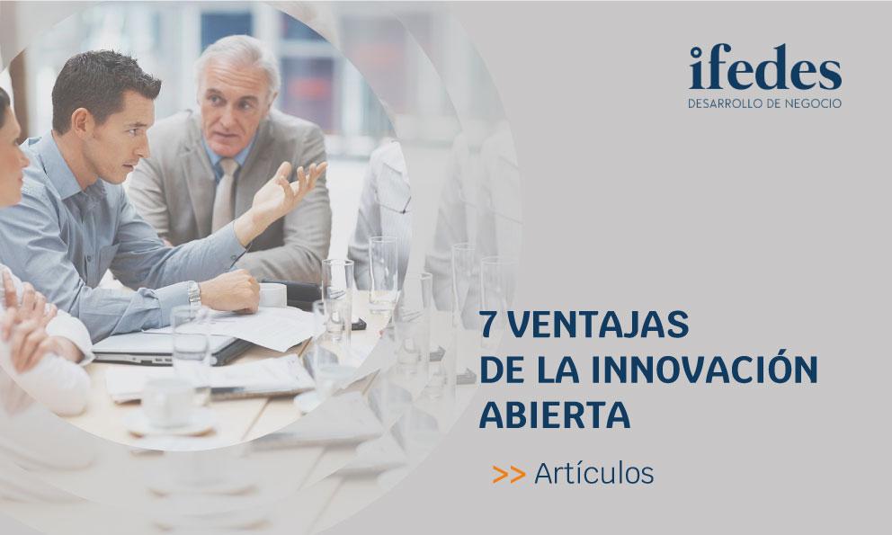 7 ventajas de la innovación abierta