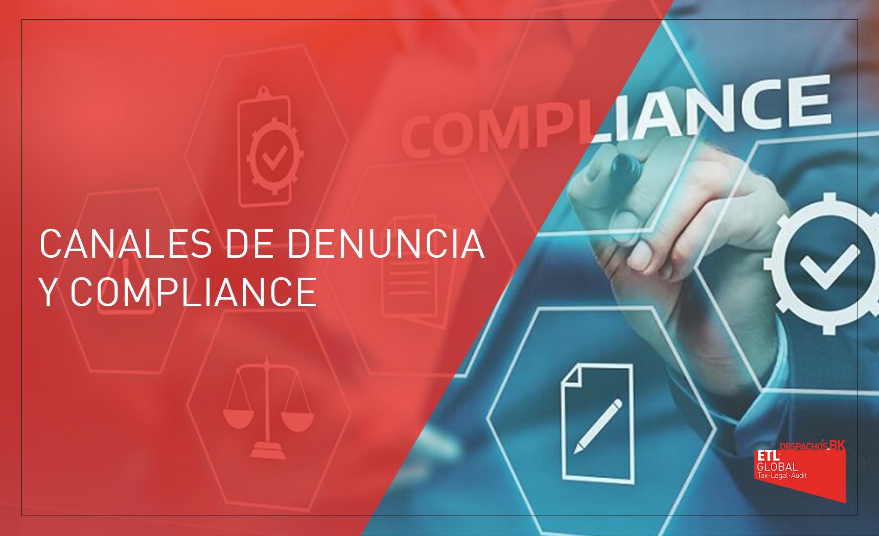 canales de denuncia y compliance