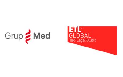ETL GLOBAL y GRUP MED CREAN MEDVISION, compañía de asesoramiento fiscal y legal especializado para profesionales de la salud