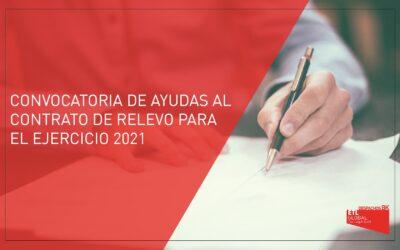 BK VALORA ETL Global: CONVOCATORIA DE AYUDAS AL CONTRATO DE RELEVO PARA EL EJERCICIO 2021